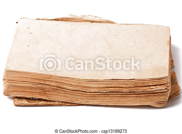old book - csp13189273