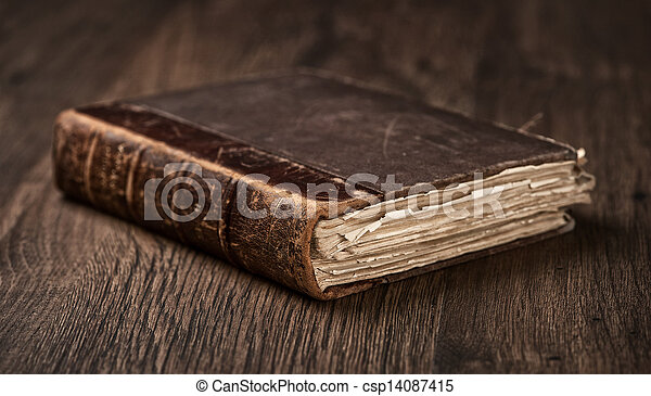 Old Book - csp14087415