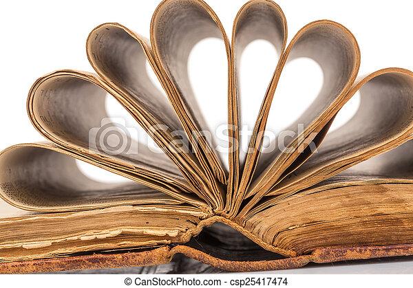 Old book - csp25417474