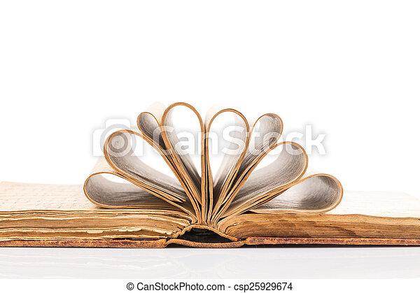 Old book - csp25929674
