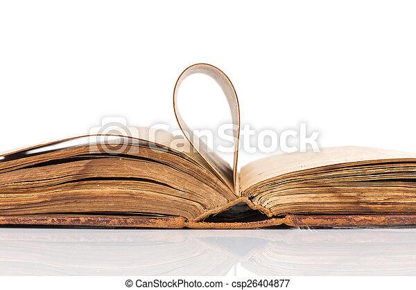 Old book - csp26404877