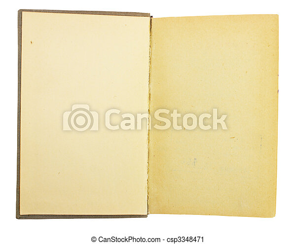 Old book - csp3348471