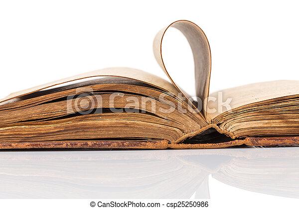 Old book - csp25250986