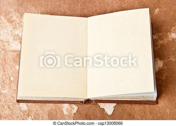 old book - csp13008066