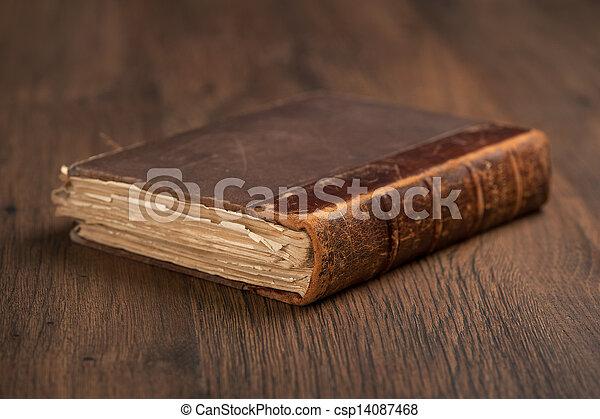 Old Book - csp14087468