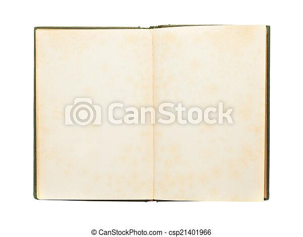 old book - csp21401966