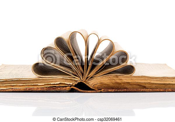 Old book - csp32069461