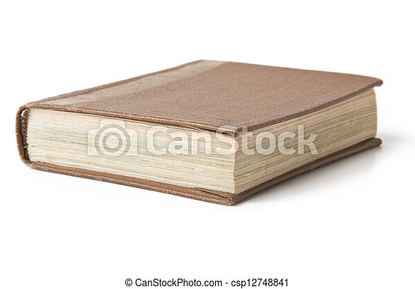 old book - csp12748841