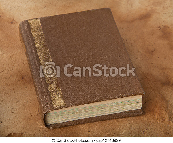 old book - csp12748929