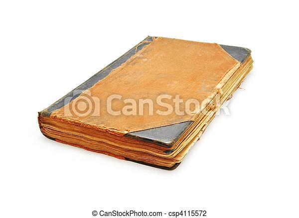 old book - csp4115572