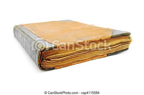 old book - csp4115584