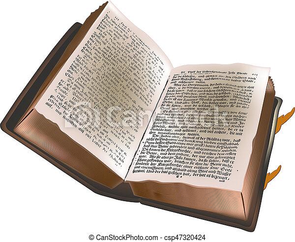 Old book - csp47320424