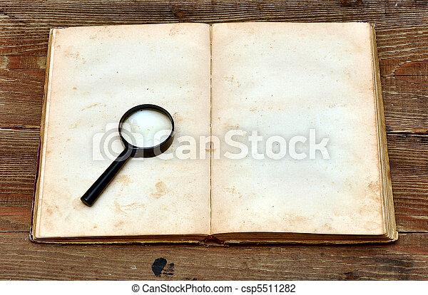 old book - csp5511282
