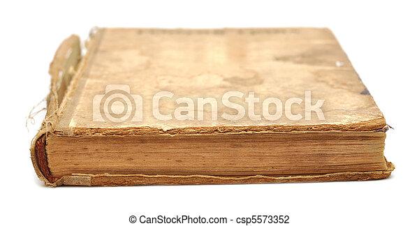 Old book - csp5573352