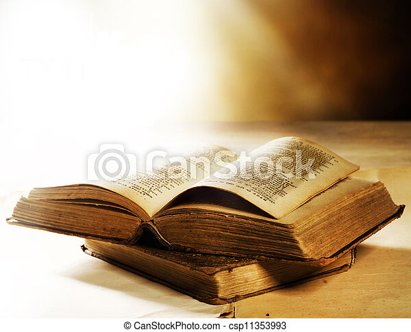 Old Book - csp11353993