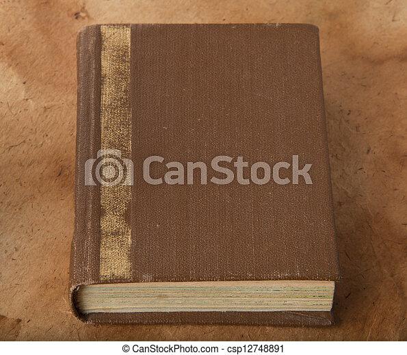 old book - csp12748891