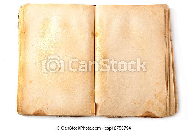 old book - csp12750794