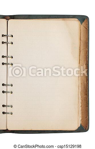 Old book - csp15129198
