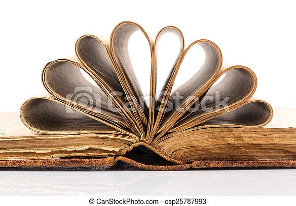 Old book - csp25787993