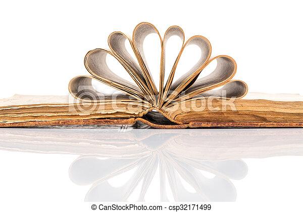 Old book - csp32171499
