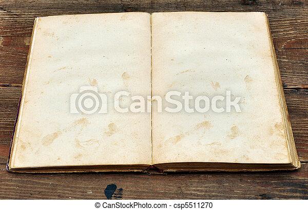 old book - csp5511270