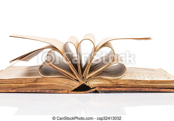 Old book - csp32413032
