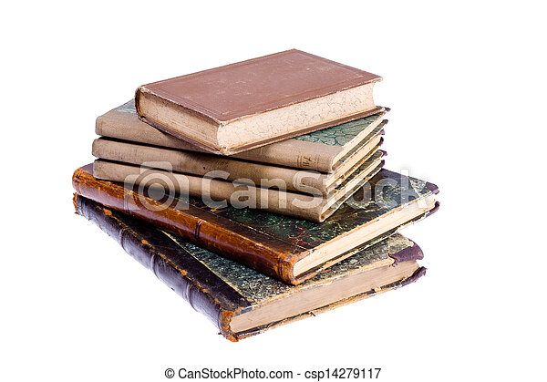 old books - csp14279117