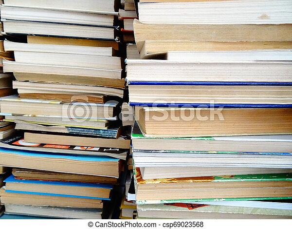 Old Books - csp69023568