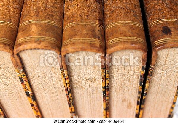 old books - csp14409454