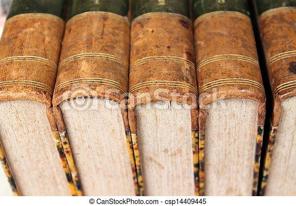 old books - csp14409445