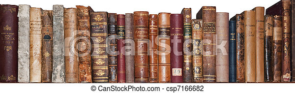 Old books - csp7166682