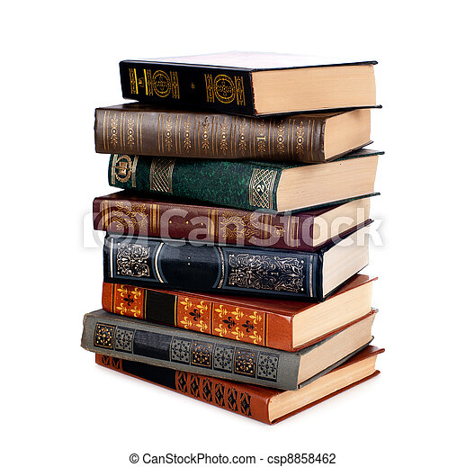 Old books - csp8858462
