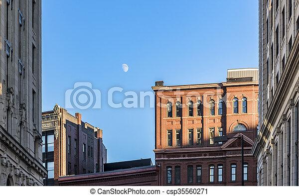 Old brick building  - csp35560271