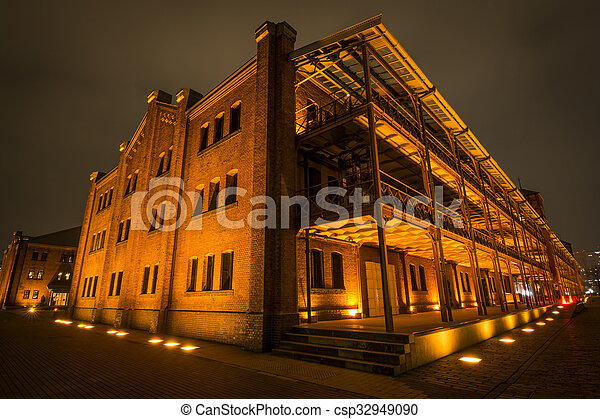 Old brick building - csp32949090