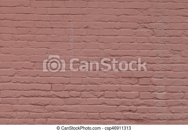 old brick stone wall background - csp46911313