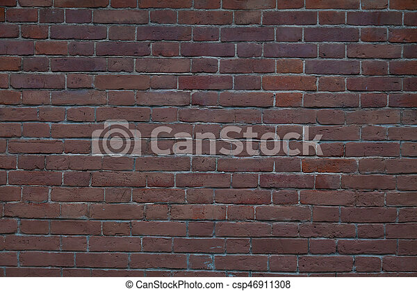 old brick stone wall background - csp46911308