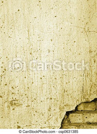 old brick wall 1 - csp0631385