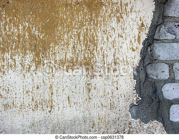 old brick wall 2 - csp0631378
