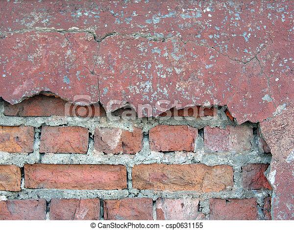 old brick wall 2 - csp0631155