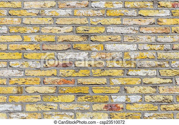 old brick wall background - csp23510072