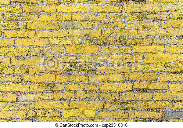 old brick wall background - csp23510316