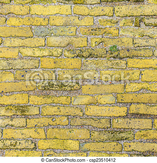 old brick wall background - csp23510412