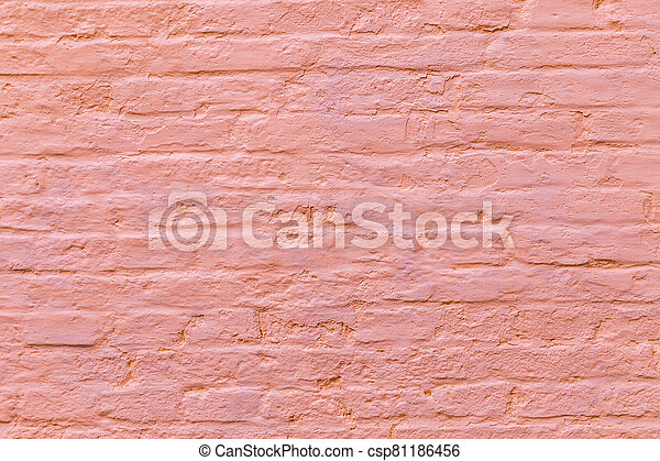 old brick wall background - csp81186456