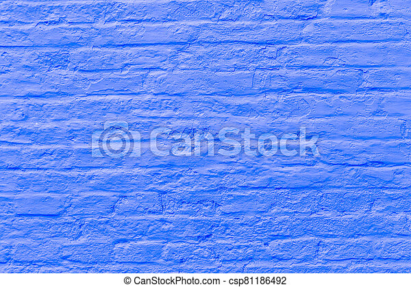 old brick wall background - csp81186492