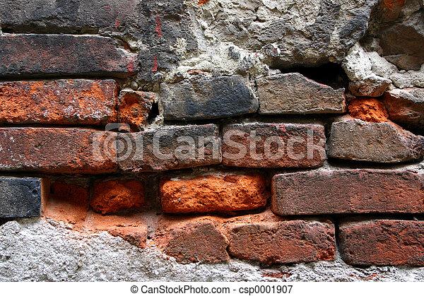 old brick wall - csp0001907
