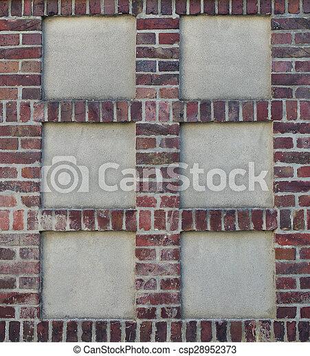 Old brick wall - csp28952373