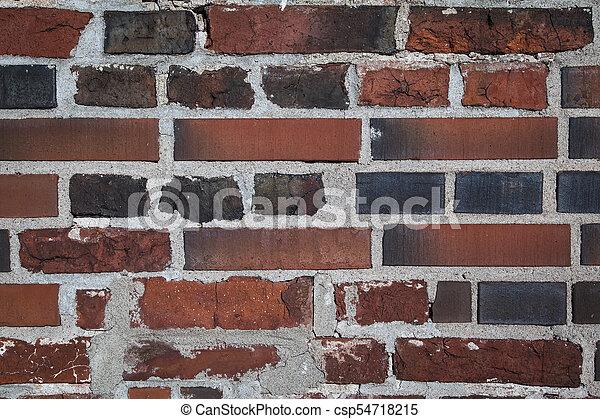 Old brick wall - csp54718215