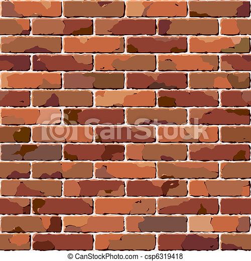 Old brick wall. Seamless texture.  - csp6319418