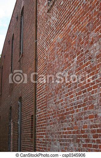 Old Brick Wall - csp0345906