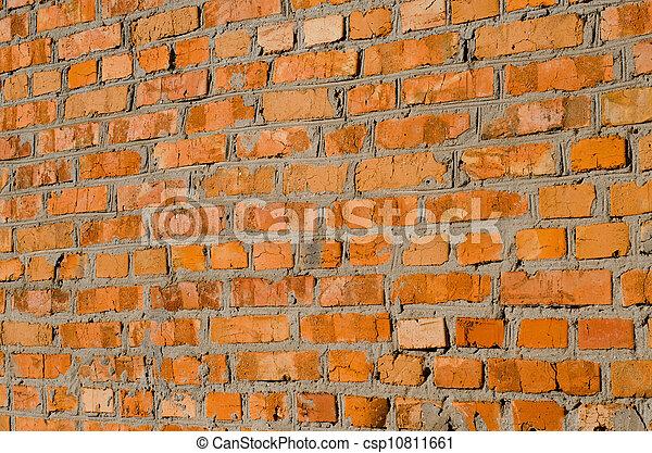 Old brick wall - csp10811661